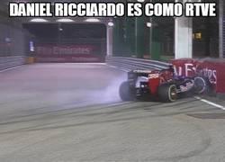 Enlace a Daniel Ricciardo es como RTVE