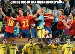 Enlace a Diego Costa puede que juegue el mundial con España. Del Bosque ¿a qué esperas?
