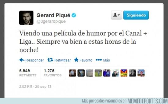 190296 - Gerard Piqué no se corta ni un pelo con el partido del Madrid