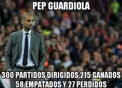Enlace a Pep Guardiola comienza a hacer historia