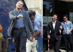 Enlace a Leo Messi vs. DiCaprio