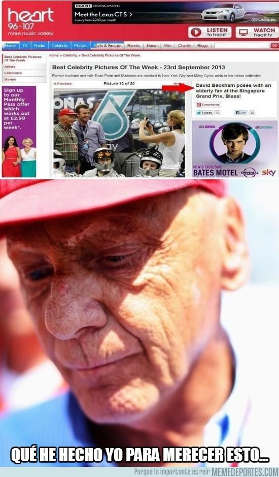190910 - Niki Lauda no es un elderly fan...