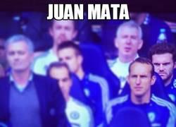 Enlace a Juan Mata, a punto de hacer honor a su apellido