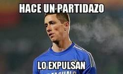 Enlace a Torres, bad luck contra el Tottenham
