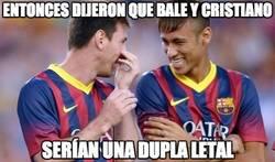 Enlace a Entonces dijeron que Bale y Cristiano...