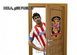 Enlace a Diego Costa llama a la puerta de la Roja por @MarioGotse19