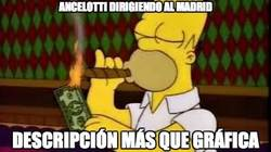 Enlace a Ancelotti dirigiendo al Madrid