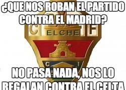 Enlace a ¿Que nos roban el partido contra el Madrid?