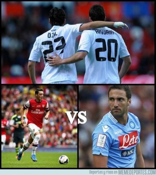 191896 - Y mañana en Champions, Arsenal vs Napoli