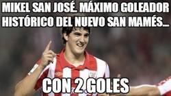 Enlace a Máximo goleador histórico del nuevo San Mamés