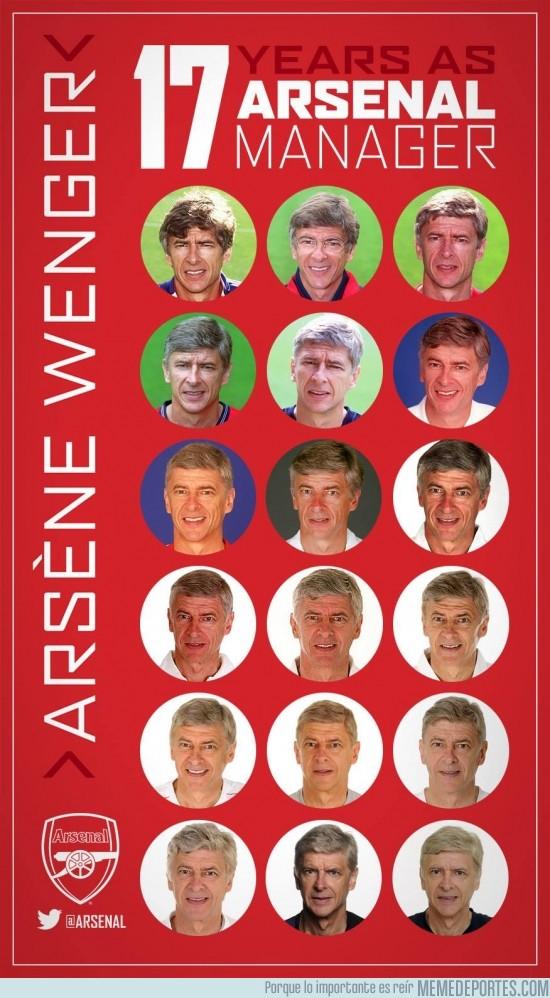 192069 - Wenger y su vida junto al Arsenal