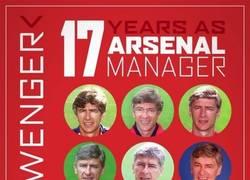Enlace a Wenger y su vida junto al Arsenal