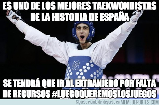 192111 - Es uno de los mejores taekwondistas de la historia de España