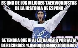 Enlace a Es uno de los mejores taekwondistas de la historia de España