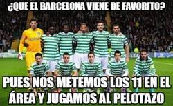 Enlace a ¿Que el Barcelona viene de favorito?