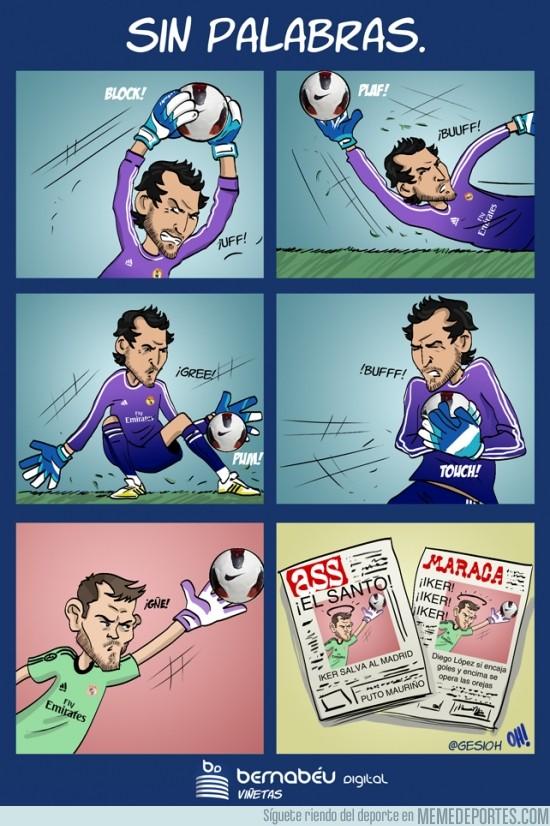 192716 - La triste realidad de la portería del Real Madrid por @gesioh