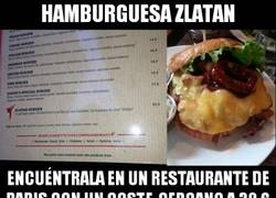Enlace a Poco más de un año en París y ya tiene una hamburguesa en su honor