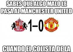 Enlace a Sabes que algo malo le pasa al Manchester United