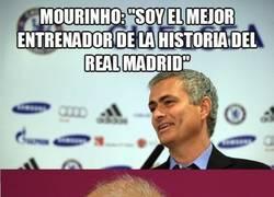 Enlace a Mourinho el mejor entrenador del Real Madrid, si claro...