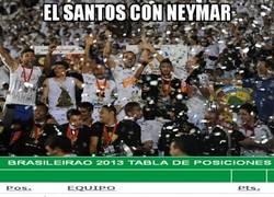 Enlace a El Santos con Neymar / sin Neymar