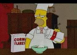 Enlace a Mark Webber preparando el desayuno