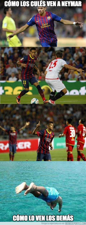 193709 - Cómo los culés ven a Neymar