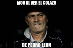 Enlace a Mou al ver el golazo de Pedro León