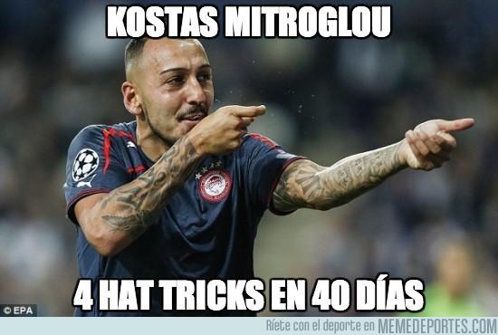 193832 - Kostas Mitroglou, rey del hat-trick