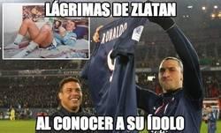 Enlace a Lágrimas de Zlatan