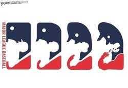 Enlace a Así debería ser en realidad el logo de la MLB