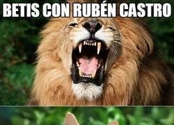 Enlace a Betis con/sin Rubén Castro