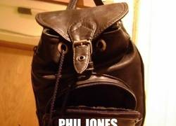 Enlace a Phil Jones, ¿eres tú?