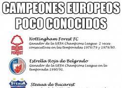 Enlace a Campeones europeos poco conocidos