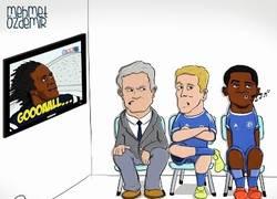 Enlace a Lukaku haciendo los goles que tendrían que hacer Torres y Etoo