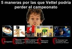 Enlace a 5 maneras por las que Vettel podría perder el campeonato