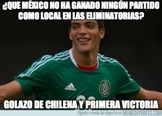 195050 - ¿Que México no ha ganado ningún partido como local en las eliminatorias?