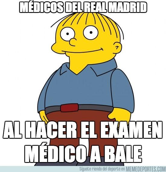 195092 - Médicos del Real Madrid al hacer el examen médico a Bale