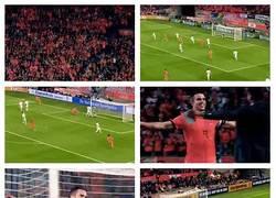 Enlace a GIF: Máximo goleador de la historia de Holanda