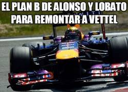 Enlace a El plan B de Alonso y lobato para remontar a Vettel