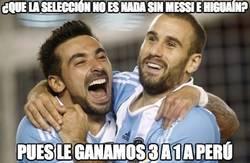 Enlace a ¿Que la selección no es nada sin Messi e Higuaín?