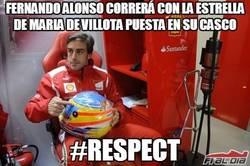 Enlace a Fernando Alonso correrá con la estrella de María de Villota puesta en su casco