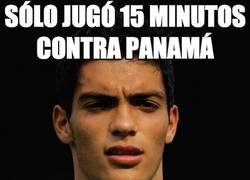 Enlace a Sólo jugó 15 minutos contra Panamá
