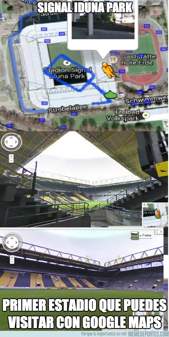 195526 - Signal Iduna Park desde Google Maps