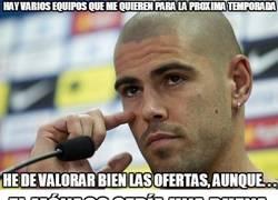 Enlace a Valdés pensando su próximo destino