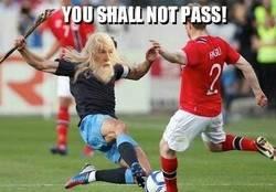 Enlace a Gandalf juega para la Selección Inglesa