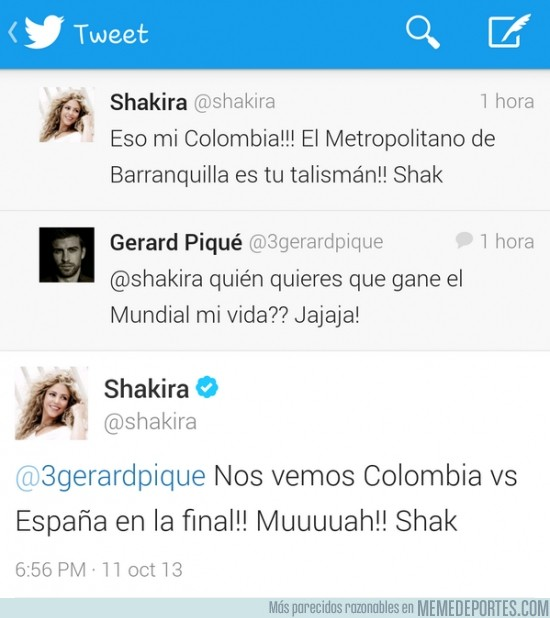 195778 - Shakira vs Piqué. El mundial puede causar una ruptura