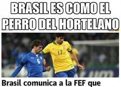 Enlace a Brasil es como el perro del hortelano