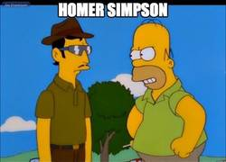 Enlace a Homer, fan del Tata