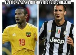 Enlace a El Etíope Adane Girma y Giorgio Chiellini