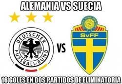 Enlace a Alemania contra Suecia, espectáculo asegurado